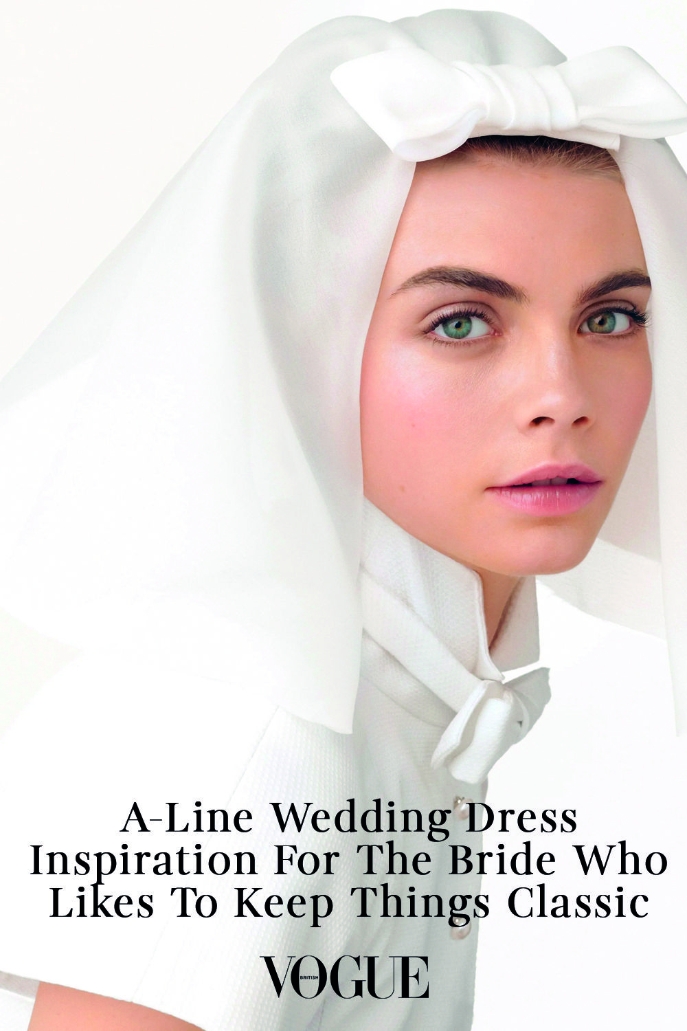 A-Line Wedding Dress Inspiration For The Bride Who Likes To Keep Things Classic