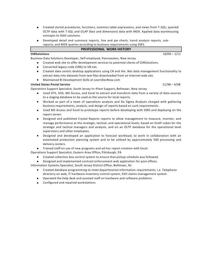 Obiee Sample Resume Architect Bank Clerk