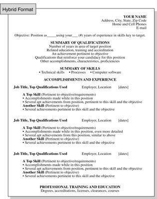 Skills Format Resume Skills Job Resume History Resume Templates - resume objective section