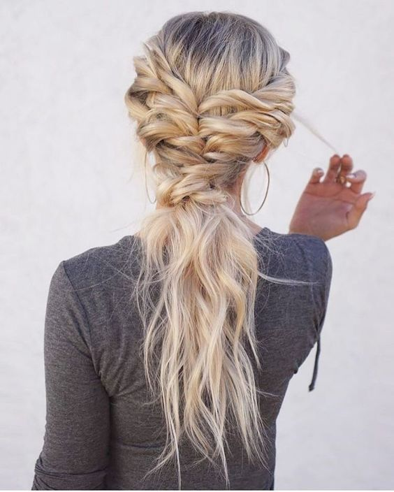 Boho Chic Hairstyle Ideas (Tutorial 5 Minutes) | On Haircuts