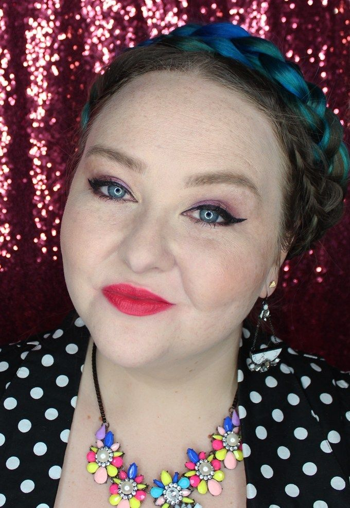 MUFE Artist Rouge Lipstick Satin Creme in C306 Pink Coral | I Bought a Bunch of MUFE Artist Rouge Lipsticks & Here's What I Think! (Make Up For Ever swatches, full face, & sass) on All Things Beautiful XO