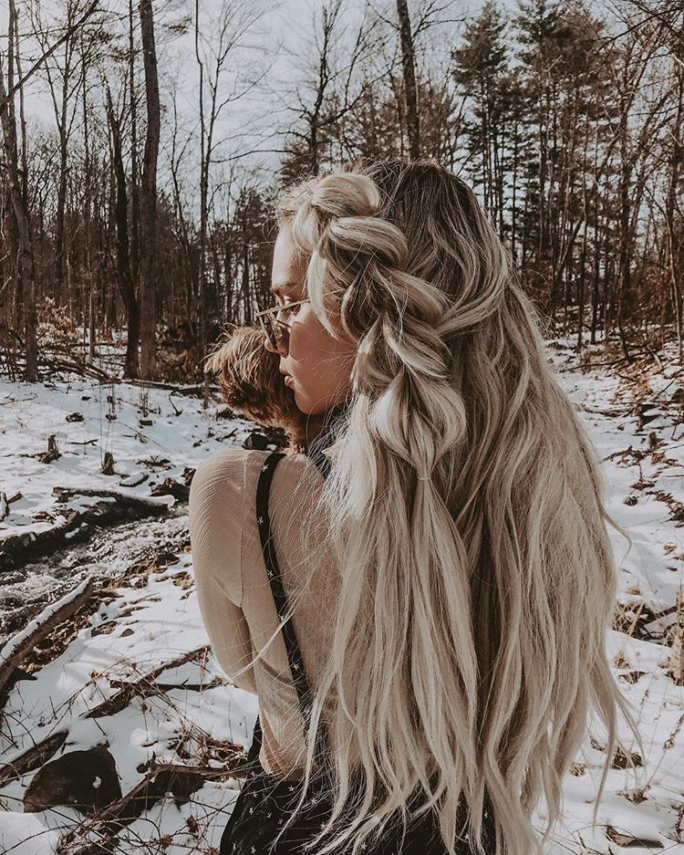 "Pull through braided hairstyle on rooted long blonde hair / Kirsten Zellers<p><a href=""http://www.homeinteriordesign.org/2018/02/short-guide-to-interior-decoration.html"">Short guide to interior decoration</a></p>"