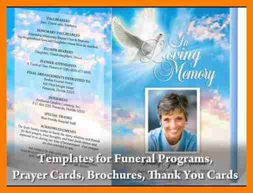 Free Funeral Templates For Word Free Funeral Program Template - funeral templates