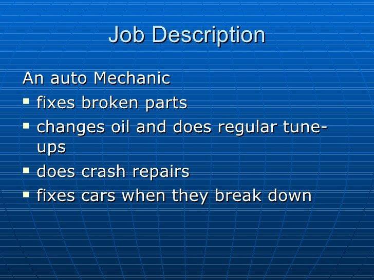 Lovely Job Description Of Auto Mechanic. Job Description Of Auto Mechanic  Automotive Technician Job . Job Description Of Auto Mechanic Throughout Auto Mechanic Job Description