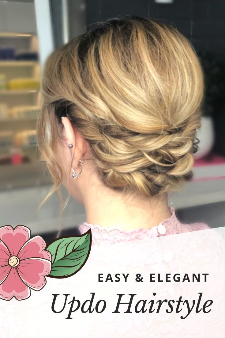How-to create an easy #updo for a #wedding or #prom from Master Stylist Tony Odisho. #easyupdo #diyupdo