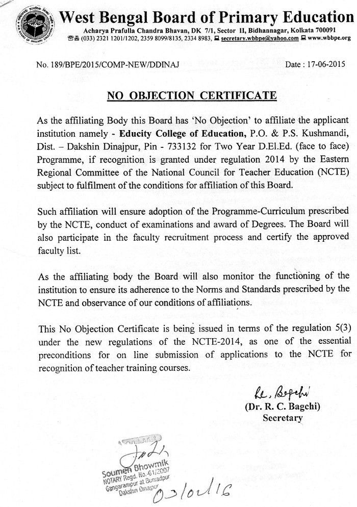 Noc No Objection Certificate No Objection Certificate Template - no objections certificate