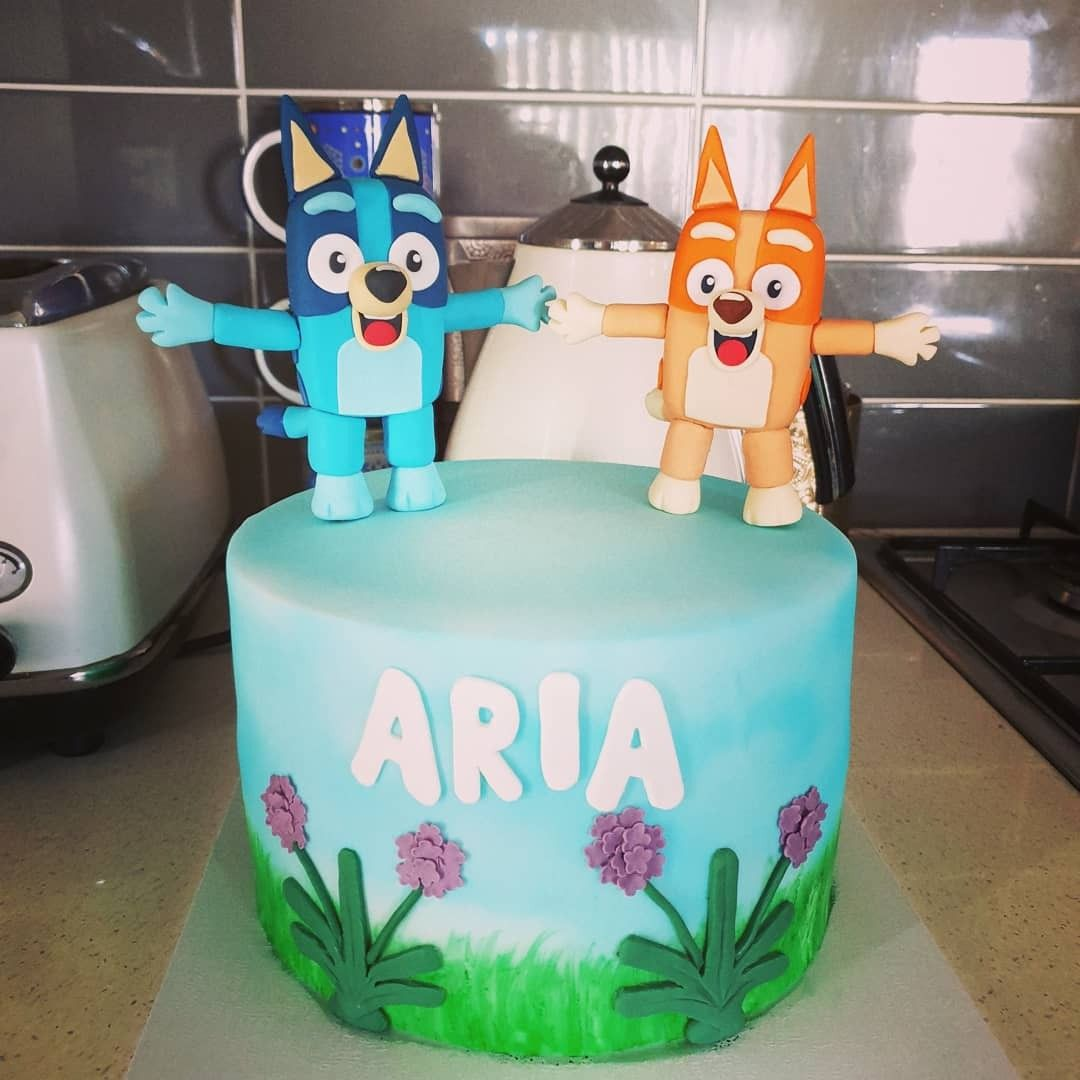 48+ Bluey birthday cake decorations ideas in 2021