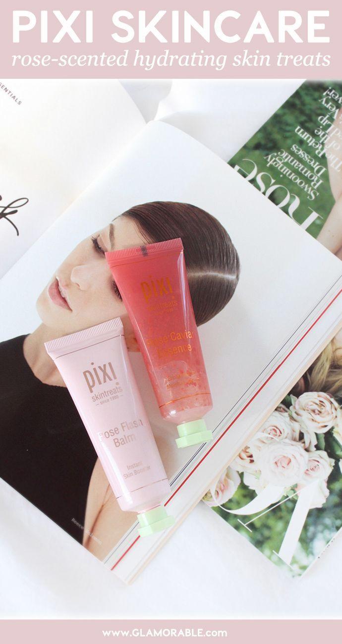 PIXI Rose Caviar Essence and Rose Flash Balm Review – via @glamorable #pixibypetra #pixibeauty #skintreats #skincare #essence #cleanbeauty #nonasties #nontoxic