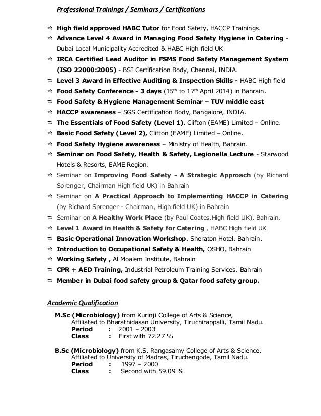 Safety Advisor Sample Resume Safety Advisor Sample Resume Hr