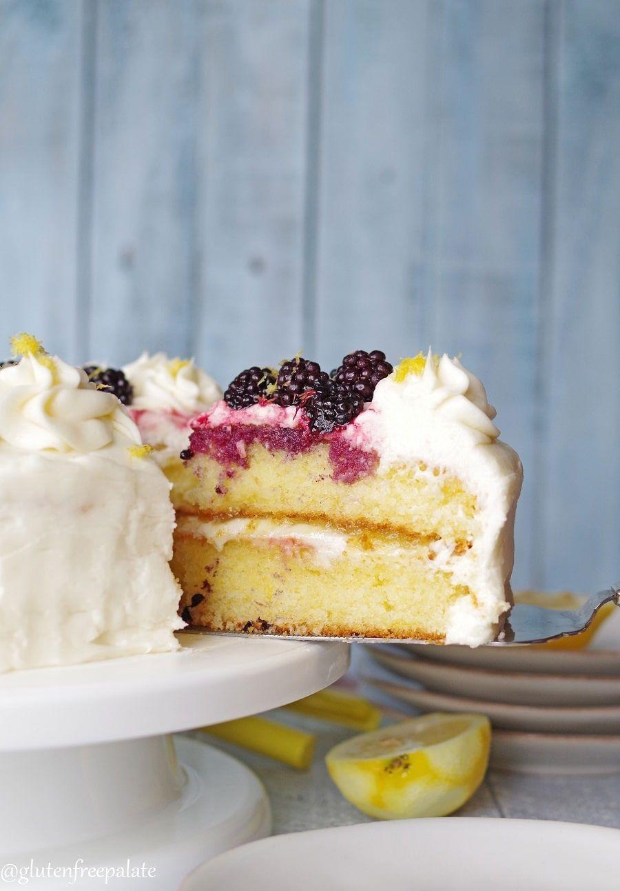 Gluten-Free Lemon CakeDelish