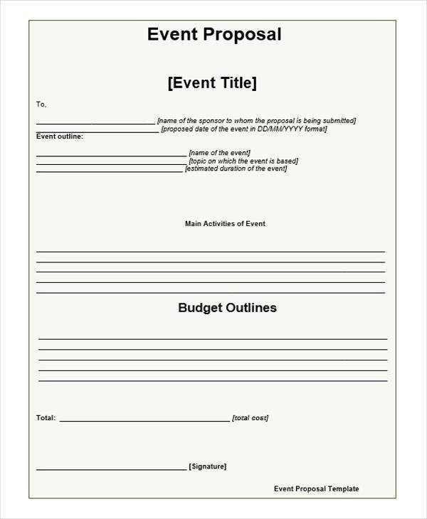 event proposal samples | node2003-cvresume.paasprovider.com