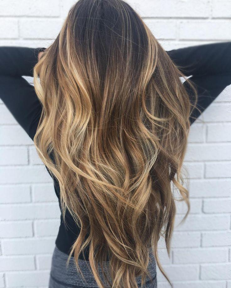 """878 """"Μου αρέσει!"""", 13 σχόλια – Sálan H (@144salanh) στο Instagram: """"Beautiful long Balayage in a tear drop root ❤️ cut/styled by @hairbyalan Color by @hairbyraquell"""""""
