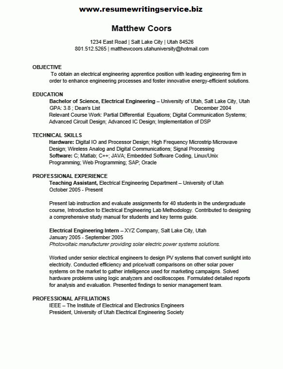 Unforgettable journeymen electricians resume examples to stand out - electrician resume template