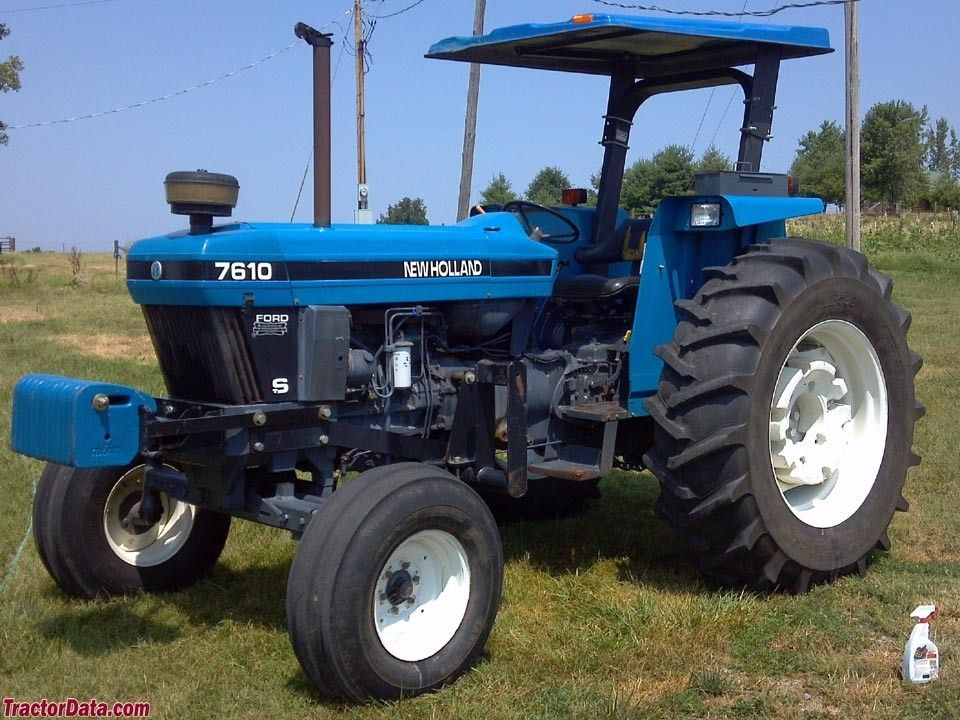 New Holland Ford >> New Holland 7610 94 00 95 Hp Ford Tractors New Holland