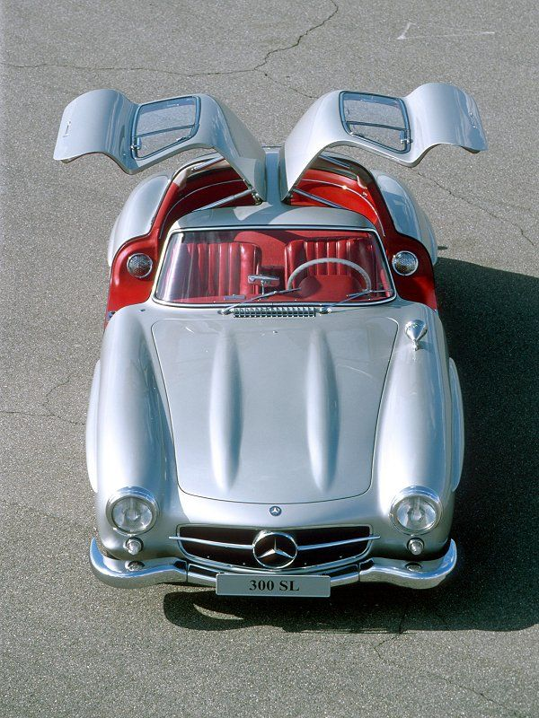 1954 Mercedes-Benz 300 SL Gullwing Coupe  Milestones