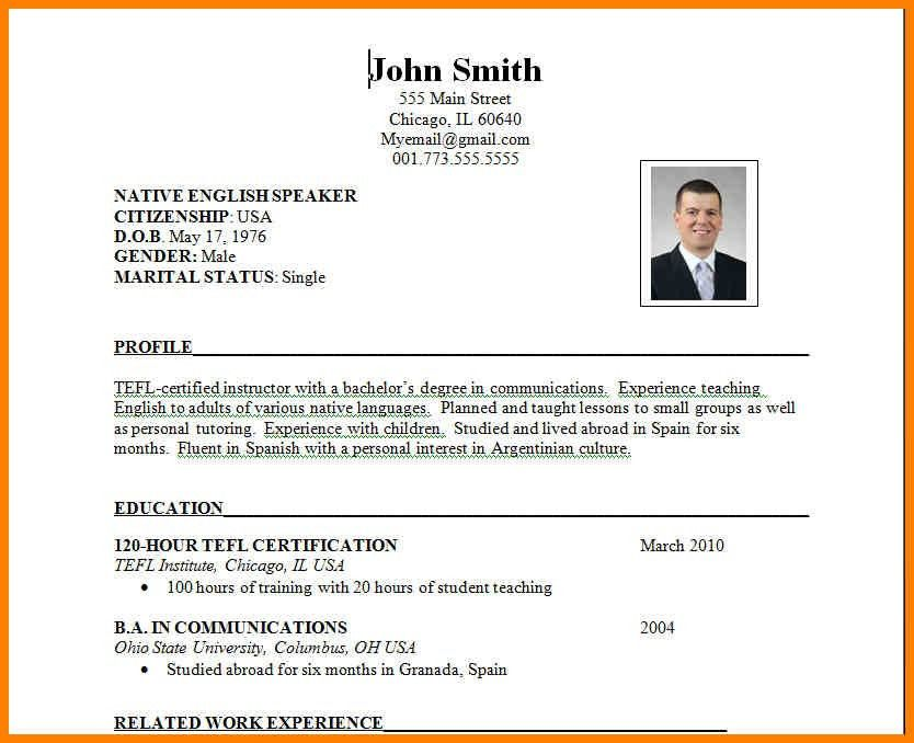 Example Format Of Resume Free Resume Samples Writing Guides For - how to format resume