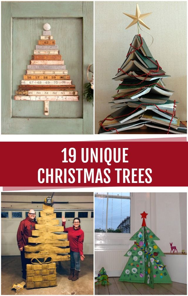 19 Unique Christmas Trees! #ChrsitmasTrees #ChrsitmasCrafts – C.R.A.F.T.