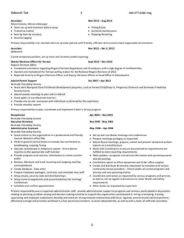outreach officer sample resume node2004-resume-template - Outreach Officer Sample Resume
