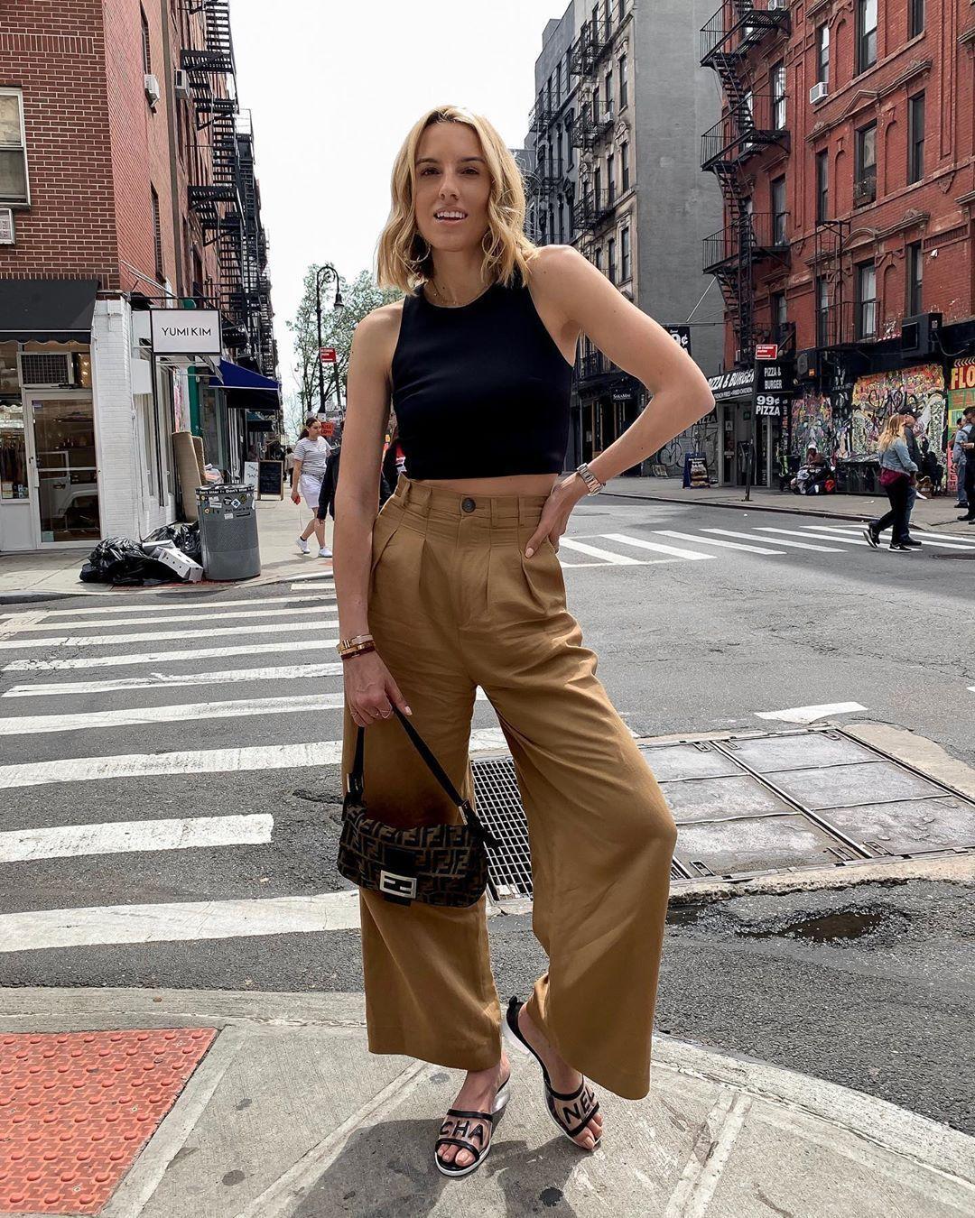 Pants, $35 at Zara – Wheretoget