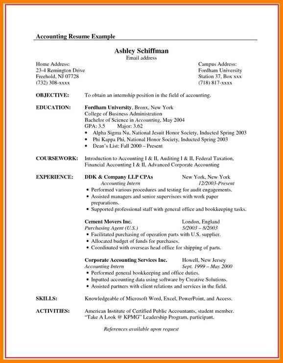 Sample Canadian Resume Format | Cvresume.Cloud.Unispace.Io