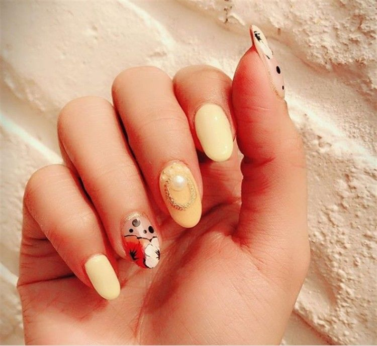 Top 33 Special Summer Gel Nail Art Designs Trends Nails – Fashonails