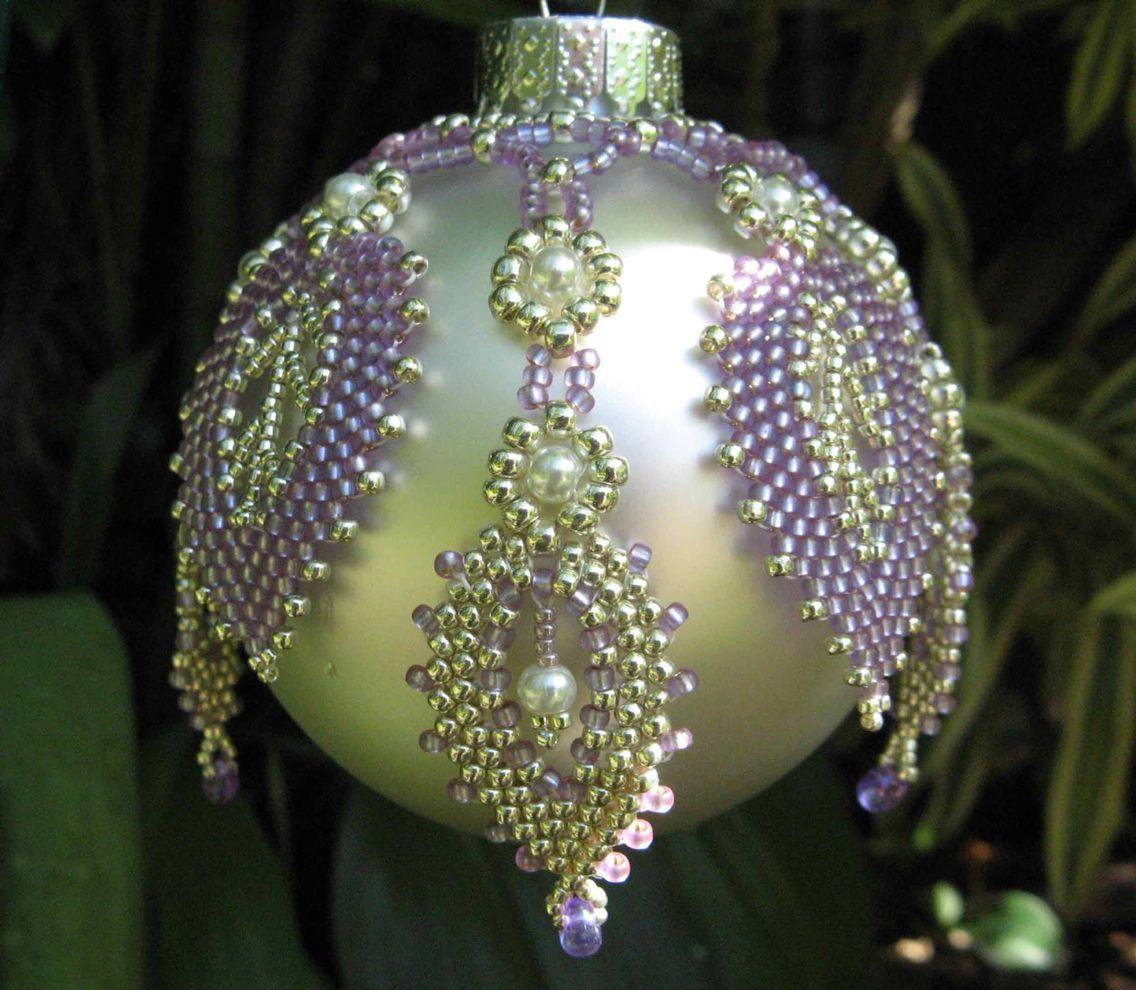 "Beads ""Christmas Ordiments"" on Pinterest | Beaded Ornament ..."