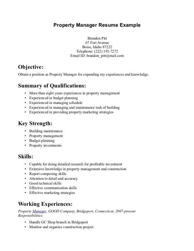Example Of Summary On Resume 4 Choose Create My Resume - short resume examples