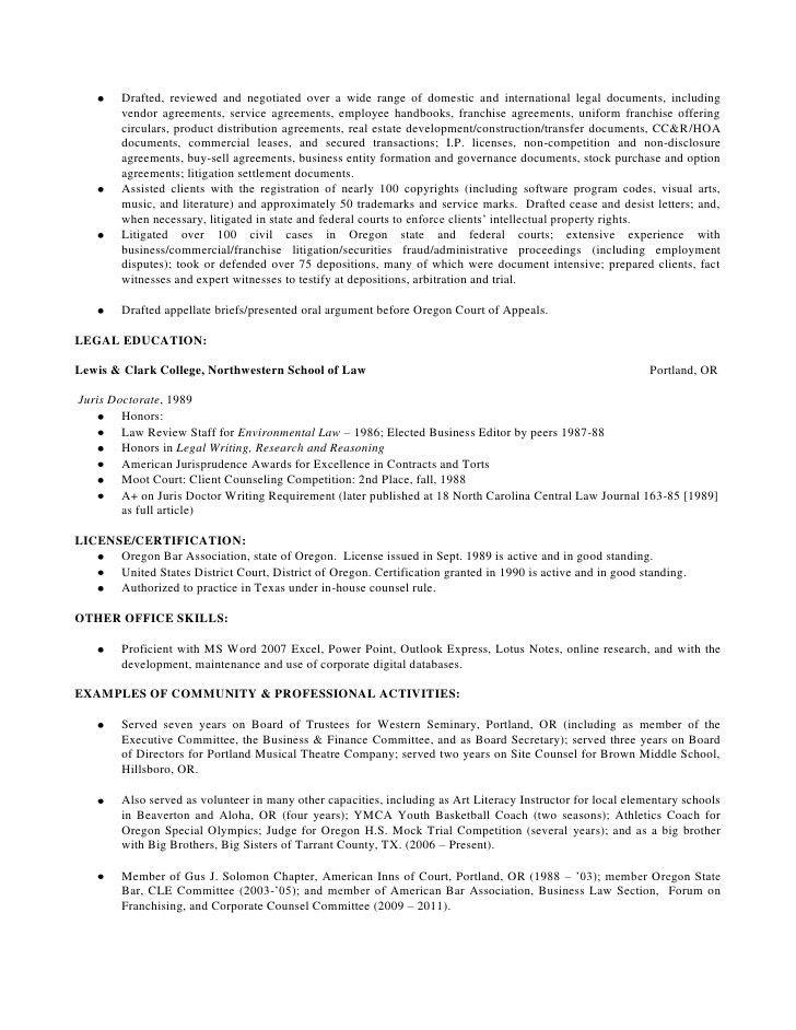 environmental attorney sample resume cvresumeunicloudpl - Environmental Attorney Sample Resume