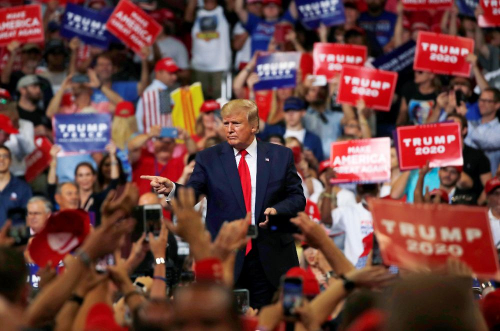 Trump launches re-election campaign, presents himself as outsider and victim – Reuters
