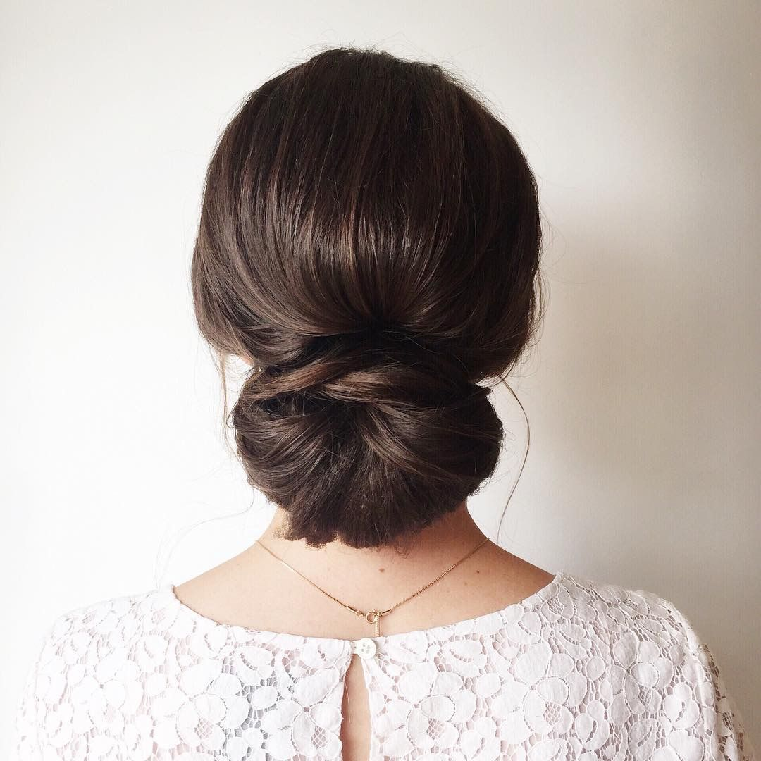 "Simple classic updo – bridal hair inspiration<p><a href=""http://www.homeinteriordesign.org/2018/02/short-guide-to-interior-decoration.html"">Short guide to interior decoration</a></p>"