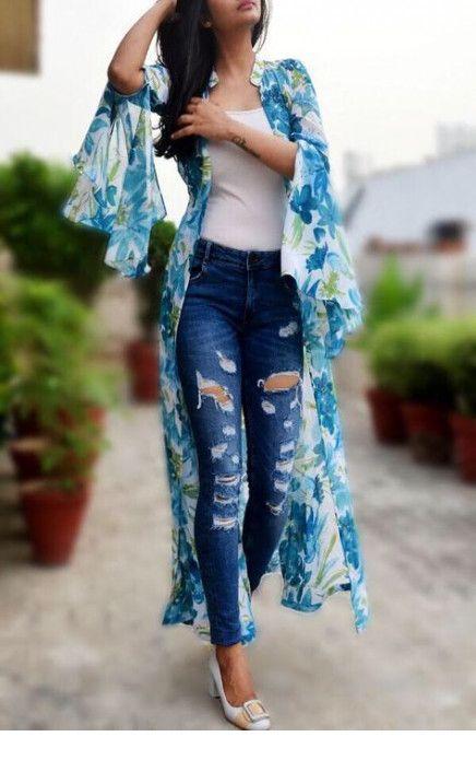 I like this floral kimono