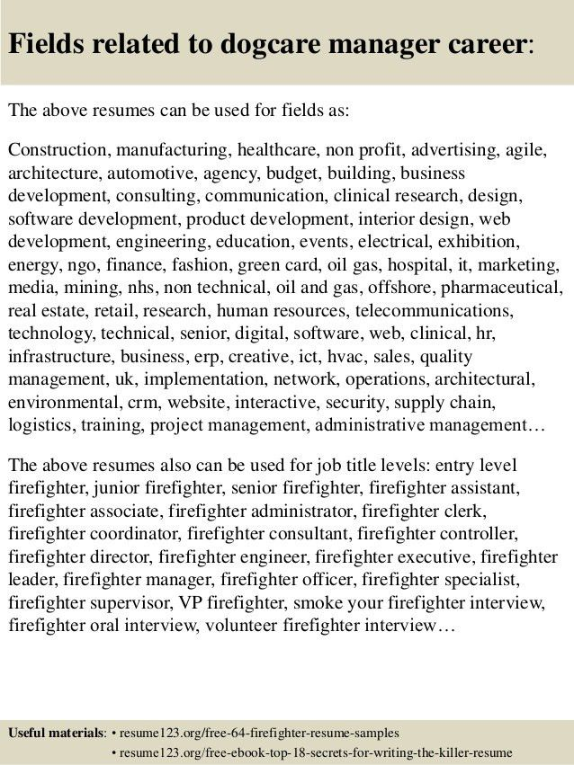 sample resume for coo in healthcare fire captain resume ...