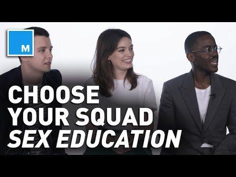 'Sex Education' Cast Choose ULTIMATE School Squad   Exclusive Interview