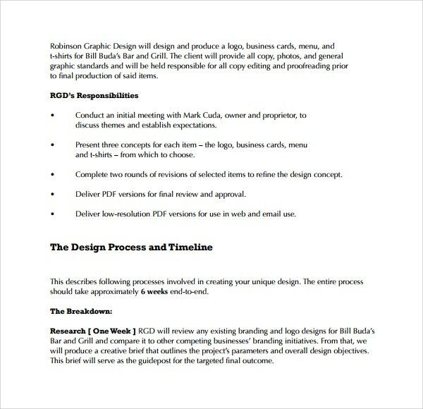 Client Proposal Sample Example Seo Proposal For Client, Sample - graphic design proposal template