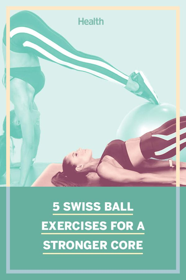 5 Swiss Ball Workouts That Will Tone Your Core and Build Arm Strength