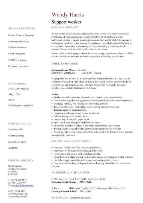 Social Work Resume Examples Social Work Resume Sample Writing - resume accomplishments examples