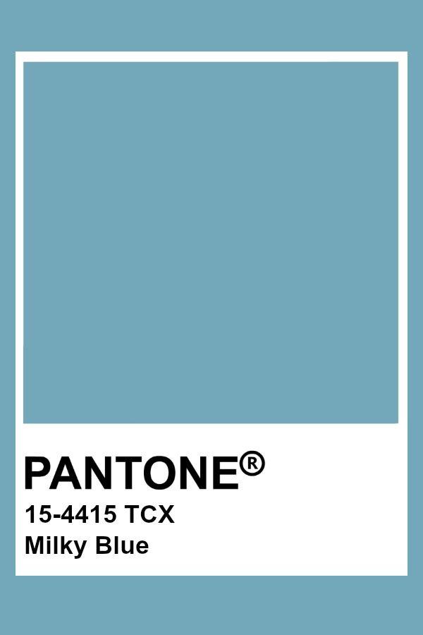 Pantone Milky Blue