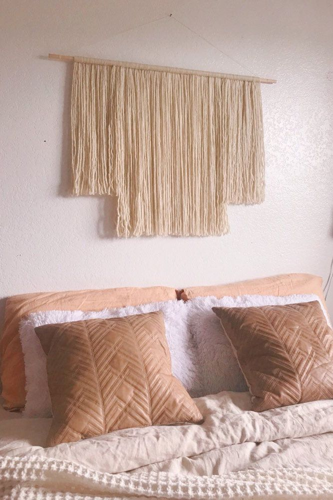 Alternative Headboard Wall Hanging