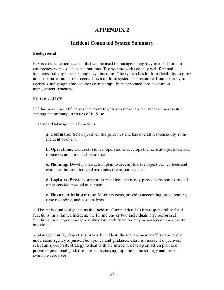 incident response template