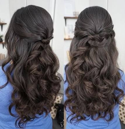 43+ Super Ideas Hair Styles Fancy Half Up