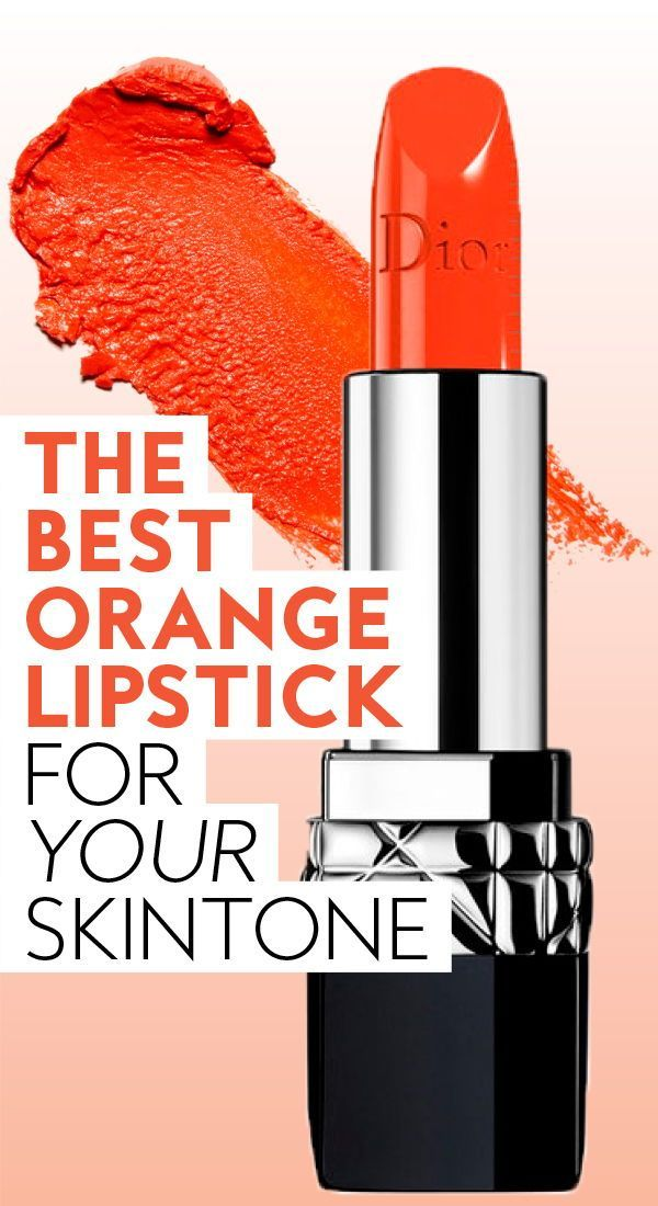 This is the best orange #lipstick for your #skintone. #lipshades #orangelipstick #diorlipstick #lipcolors #flatteringlipcolors