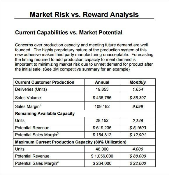 Competitive Market Analysis Template competitive market analysis - sample competitive analysis 2