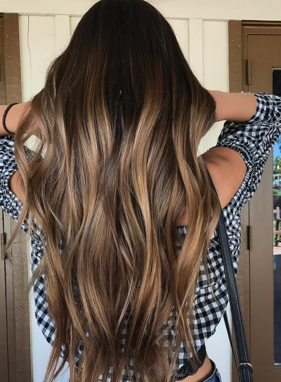 Virgin Brown Balayage