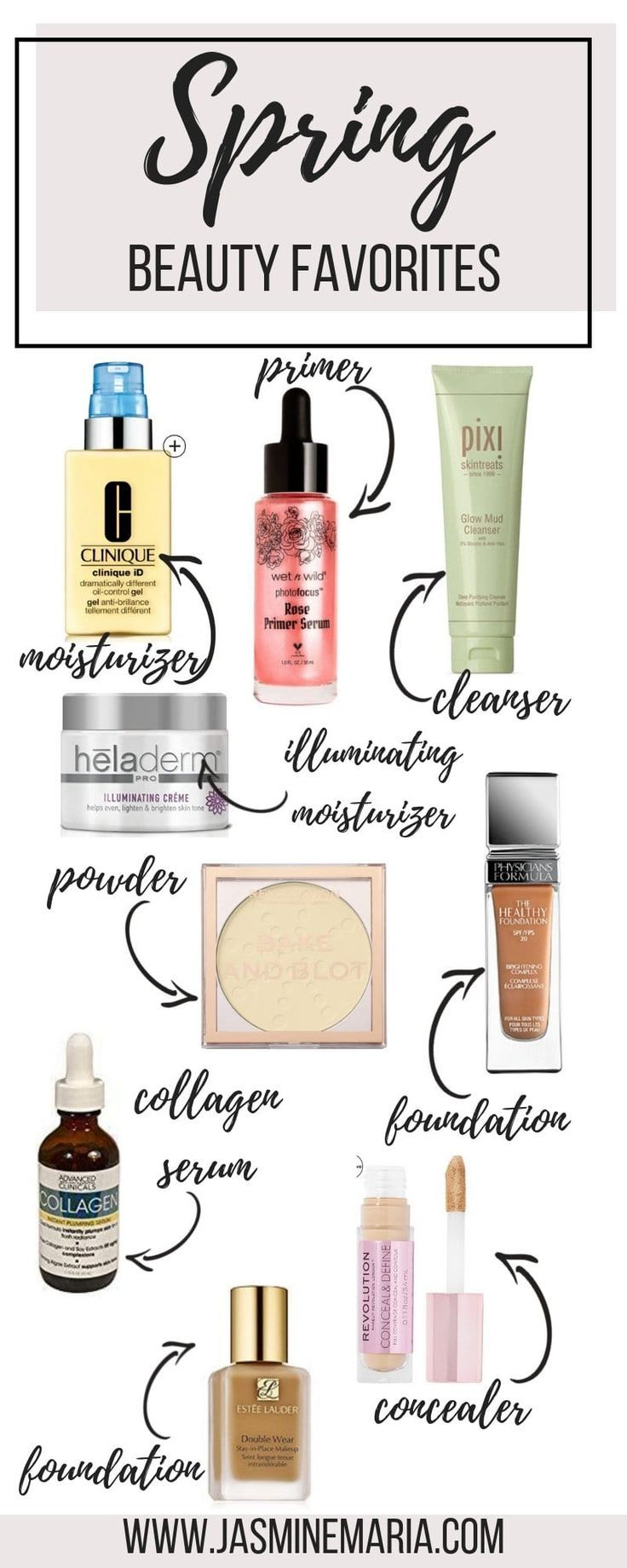 Spring Beauty Favorites #springbeauty #springskincare #springfavorites #springbeautyfavorites #skincareroutine #makeuproutine