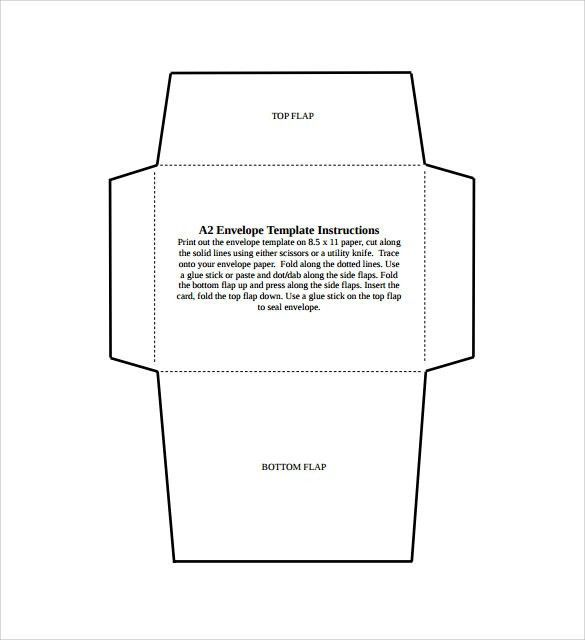 Envelope Example Number 9 And Number 10 Business Envelopes Church - sample money envelope template