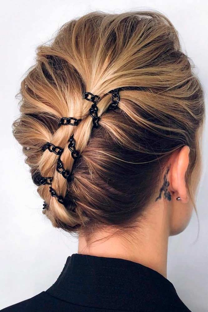 "Stylish Hairstyle With Chain <a class=""pintag"" href=""/explore/updohairstyle/"" title=""#updohairstyle explore Pinterest"">#updohairstyle</a> <a class=""pintag"" href=""/explore/stylishhairstyle/"" title=""#stylishhairstyle explore Pinterest"">#stylishhairstyle</a> ★ Immerse into our collection of hairstyles for medium length hair. These ideas will help you create contemporary and modern look. Get some inspiration! ★ See more: <a href=""https://glaminati.com/hairstyles-for-medium-length-hair/"" rel=""nofollow"" target=""_blank"">glaminati.com/…</a> <a class=""pintag"" href=""/explore/glaminati/"" title=""#glaminati explore Pinterest"">#glaminati</a> <a class=""pintag"" href=""/explore/lifestyle/"" title=""#lifestyle explore Pinterest"">#lifestyle</a><p><a href=""http://www.homeinteriordesign.org/2018/02/short-guide-to-interior-decoration.html"">Short guide to interior decoration</a></p>"