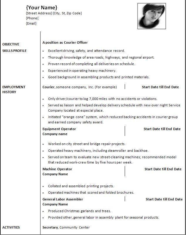 Free Resume Templates For Mac Resume Template Download Mac, Mac - mac pages resume templates