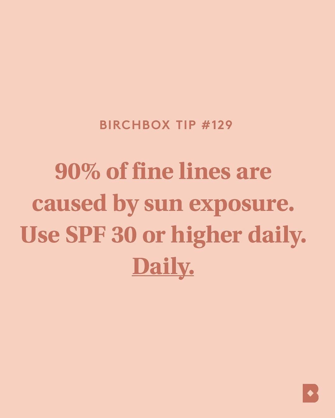 SPF is the absolute best thing you can do to prevent (and even treat) lines and wrinkles.