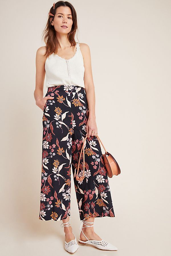 DOLAN Collection Dayna Embroidered Trousers