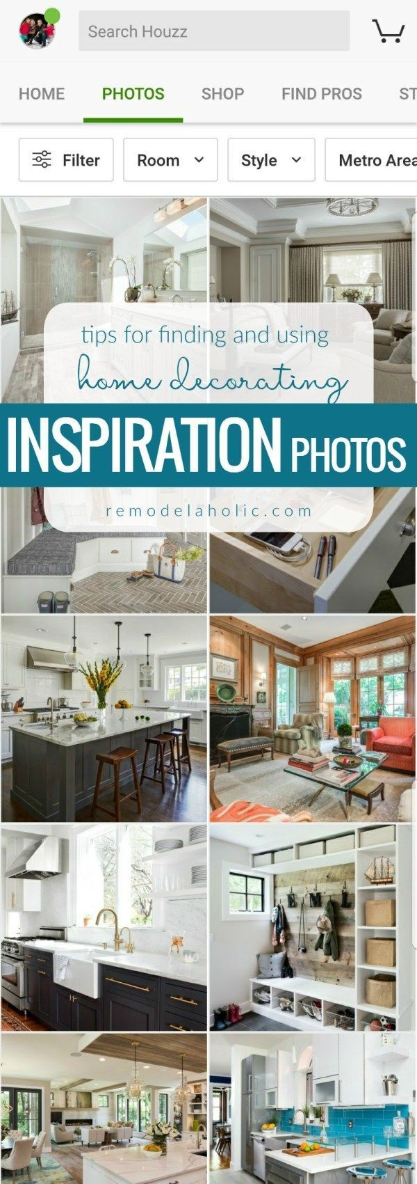 Finding (and Using) Beautiful Home Decorating Inspiration Photos